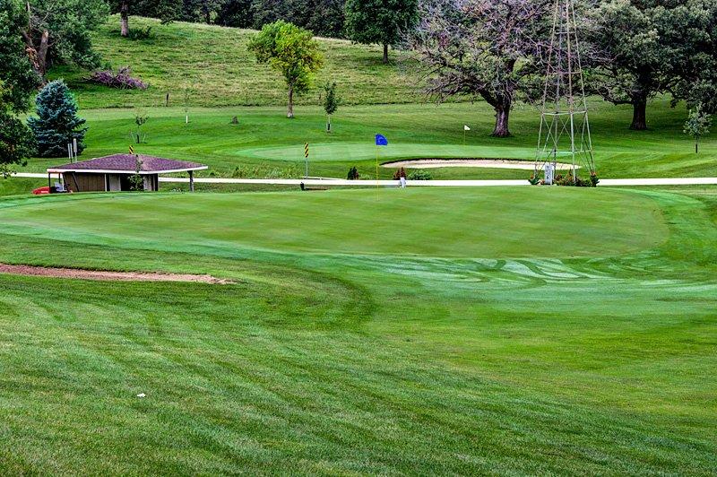 #11 Green - Atlantic Golf & Country Club