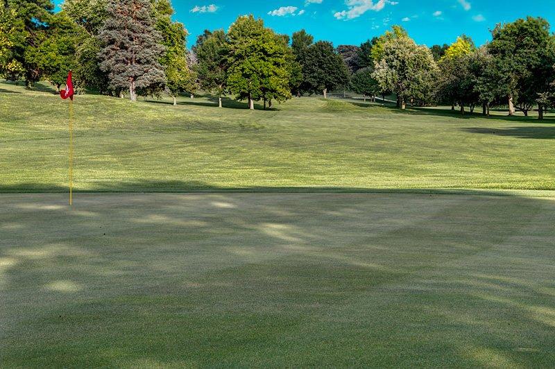 #17 Green - Atlantic Golf & Country Club