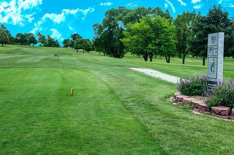 #18 Tee - Atlantic Golf & Country Club