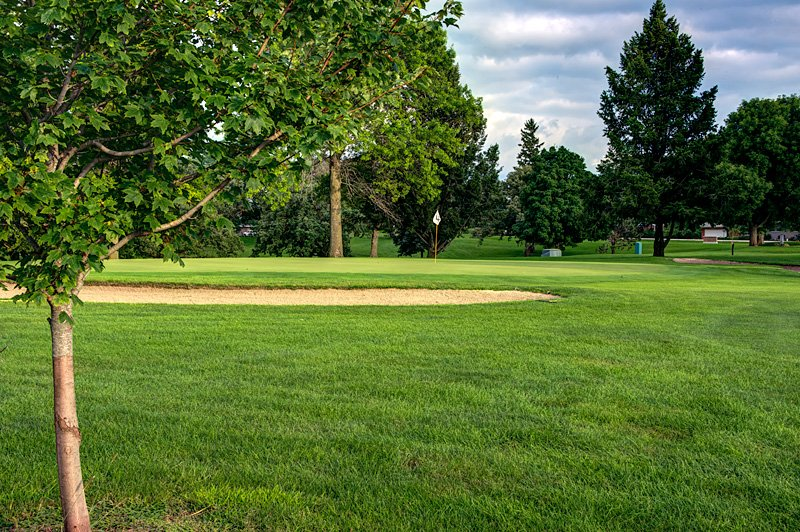 #9 Green - Atlantic Golf & Country Club